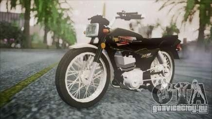 Suzuki AX 100 для GTA San Andreas