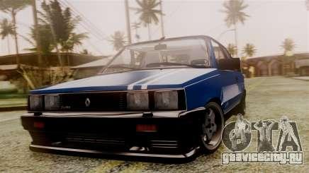 Renault 11 Turbo для GTA San Andreas