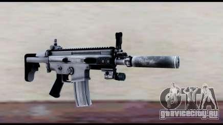 MK16 PDW Standart Quality v1 для GTA San Andreas