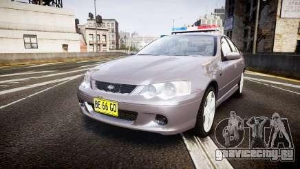 Ford Falcon XR8 Unmarked Police [ELS] для GTA 4