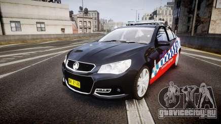 Holden VF Commodore SS Highway Patrol [ELS] для GTA 4