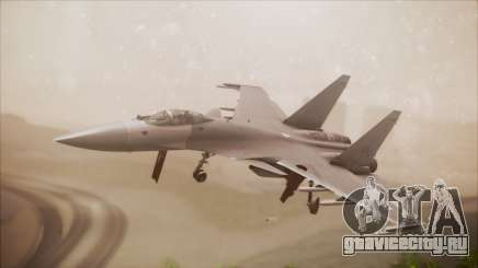 SU-35 Flanker-E Ofnir Ace Combat 5 для GTA San Andreas