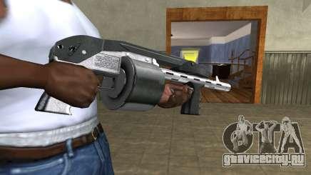 Silver Granate Combat Shotgun для GTA San Andreas