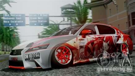 Lexus GS350 Stance Itsuka Kotori для GTA San Andreas