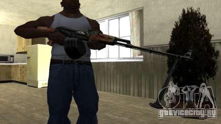 Старый пулемет для GTA San Andreas