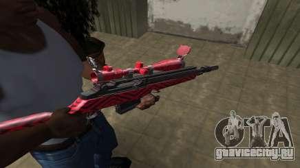 Red Romb Sniper Rifle для GTA San Andreas