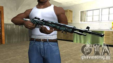 Green Forest Rifle для GTA San Andreas
