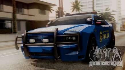 Hunter Citizen SAPD IVF для GTA San Andreas