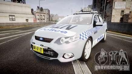 Ford Falcon FG XR6 Turbo Police [ELS] для GTA 4