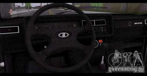 Ваз 2107 Качественный Сток для GTA San Andreas вид снизу