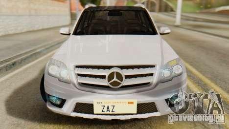 Mercedes-Benz GLK320 2012 для GTA San Andreas вид справа