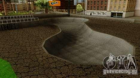 HD Скейт парк для GTA San Andreas третий скриншот