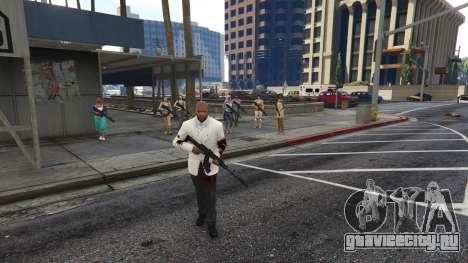 Bodyguard Menu 1.7 для GTA 5 третий скриншот