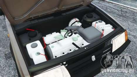 ВАЗ-21093i для GTA 5 вид спереди справа