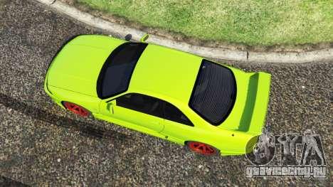 Nissan Skyline BCNR33 [Beta] для GTA 5 вид сзади