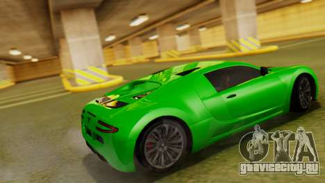 GTA 5 Adder для GTA San Andreas вид слева