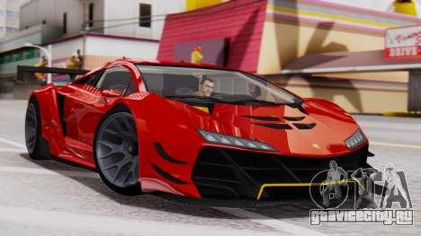 Pegassi Zentorno SM GT3 для GTA San Andreas