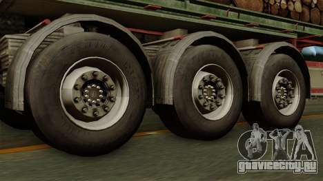 Trailer Cargos ETS2 New v2 для GTA San Andreas вид сзади слева