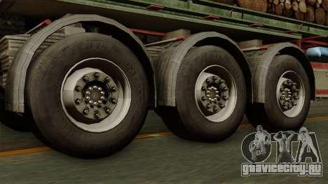 Trailer Cargos ETS2 New v2 для GTA San Andreas вид сзади слева