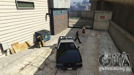 Arrest Peds V (Police mech and cuffs) для GTA 5 шестой скриншот