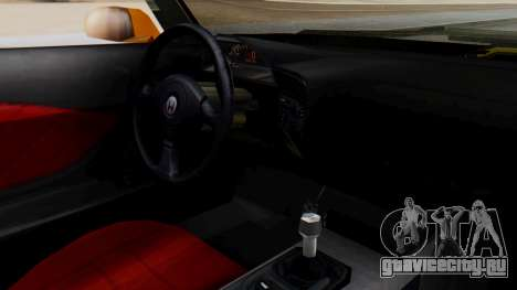Honda S2000 Fast and Furious для GTA San Andreas вид справа