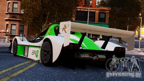 Radical SR8 RX 2011 для GTA 4 вид слева