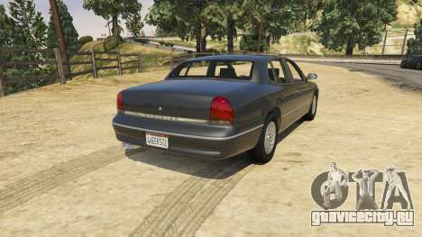 1994 Chrysler New Yorker для GTA 5 вид слева