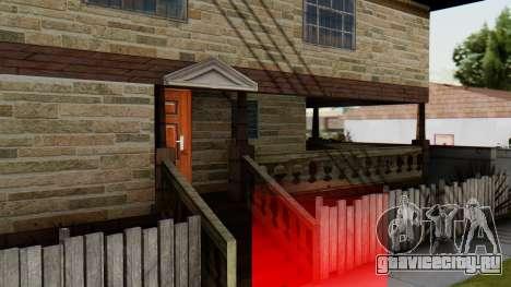 Новый интерьер дома CJ для GTA San Andreas четвёртый скриншот