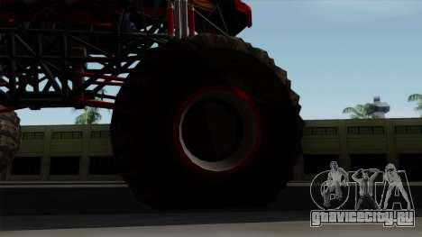 The Seventy Monster v2 для GTA San Andreas вид сзади