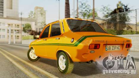 Renault 12 Gordini для GTA San Andreas вид слева