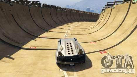 Maze Bank Mega Spiral Ramp для GTA 5 третий скриншот