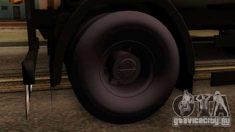 GTA 5 Fieldmaster Wood Trailer для GTA San Andreas вид сзади слева