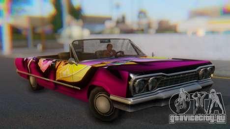 Savanna New PJ для GTA San Andreas вид справа