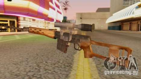 СВД SA Style для GTA San Andreas второй скриншот