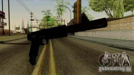 AP Pistol with Supressor для GTA San Andreas