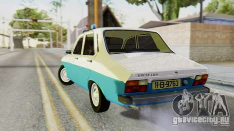 Dacia 1310 Militia для GTA San Andreas вид слева