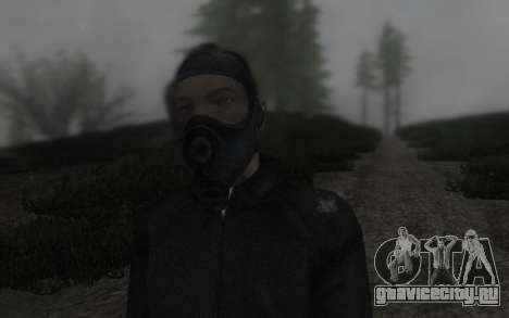 GTA5 Gasmask для GTA San Andreas третий скриншот