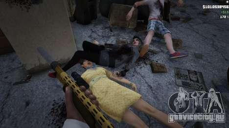 4K HD Raiders Blood, Violence, Ragdoll Overh для GTA 5
