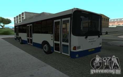ЛиАЗ 5293.70 для GTA San Andreas