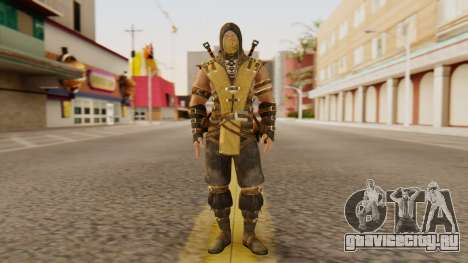 Scorpion [MKX] для GTA San Andreas второй скриншот
