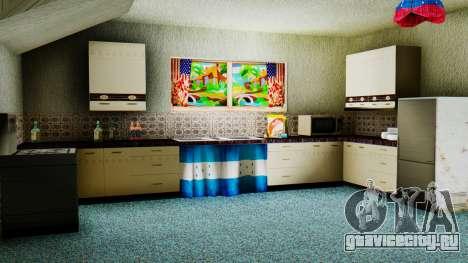 Stern Design House CJ для GTA San Andreas четвёртый скриншот