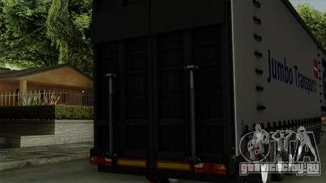 Trailer Krone Profiliner v4 для GTA San Andreas вид справа
