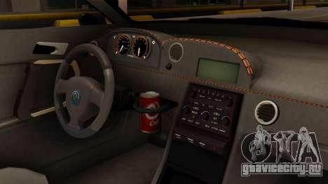 GTA 5 Annis Elegy RH8 SA Style для GTA San Andreas вид справа