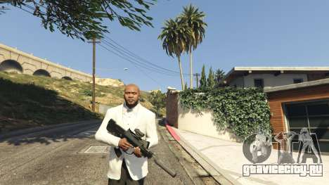 Battlefield 4 Famas для GTA 5 второй скриншот
