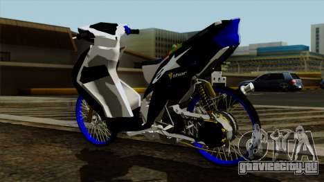 Mio Drag для GTA San Andreas вид справа