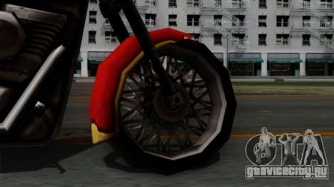Freeway Avenger для GTA San Andreas вид сзади слева