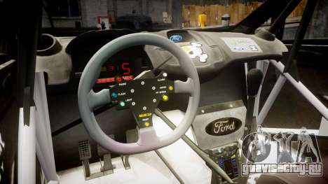Ford Fiesta RS Ken Block 2015 для GTA 4 вид сзади
