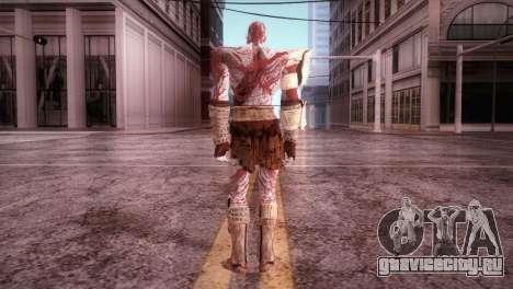 God Of War 3 Kratos Blood для GTA San Andreas третий скриншот