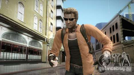 New Jhon Albert Wesker from Resident Evil для GTA San Andreas
