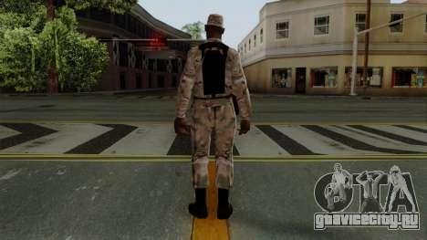 Армеец афроамериканец Multicam для GTA San Andreas третий скриншот